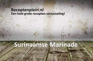Surinaamse Marinade