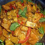 Thaise curry met varkensvlees