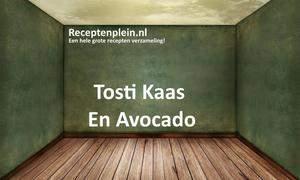 Tosti Kaas En Avocado