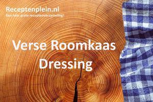 Verse Roomkaas Dressing