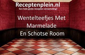 Wentelteefjes Met Marmelade En Schotse Room