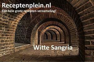Witte Sangria