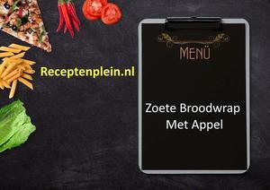 Zoete Broodwrap Met Appel