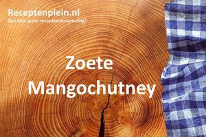 Zoete Mangochutney