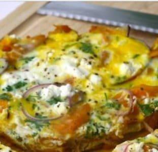 Zoete aardappel Tortilla