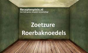 Zoetzure Roerbaknoedels