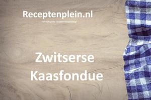 Zwitserse Kaasfondue