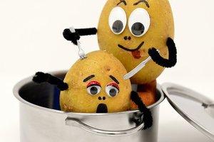 Aardappelkoekjes met zalm