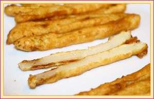Asparagi Fritti in pastella