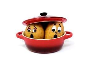 Aardappel doperwtensoep