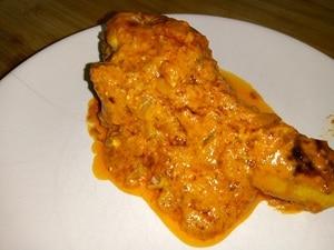 Fricassee van kip uit Lyon