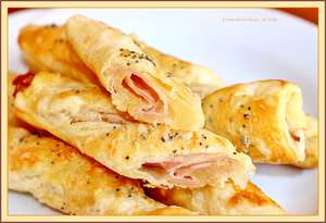 Ham-kaas snackstick