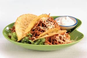 Taco met andijvie en gehakt