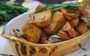 Italiaans geroosterde aardappelen