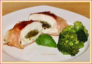Recept: Kipfilet gevuld met pesto