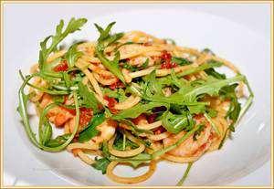 pastasaus op basis van zongedroogde tomaten