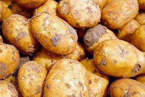 Aardappel vissoep