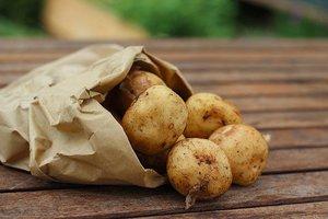 Aardappelen met kwark