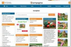 Startpagina Recepten