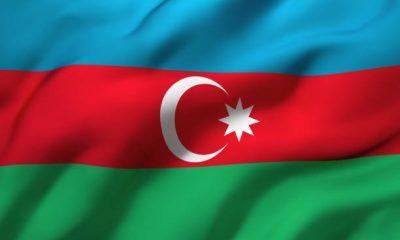 vlag van Azerbeijan